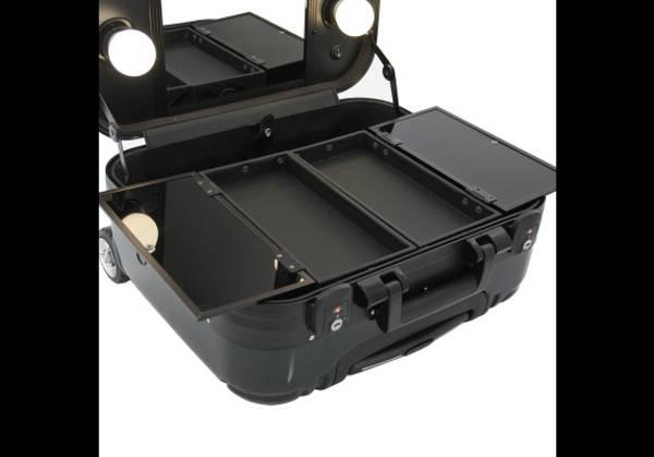 Bilde av Kosmetikkoffert / Sminkekoffert med lys og speil