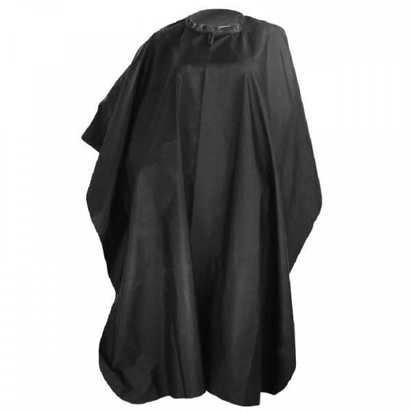 Bilde av Frisørkappe sort med borrelås