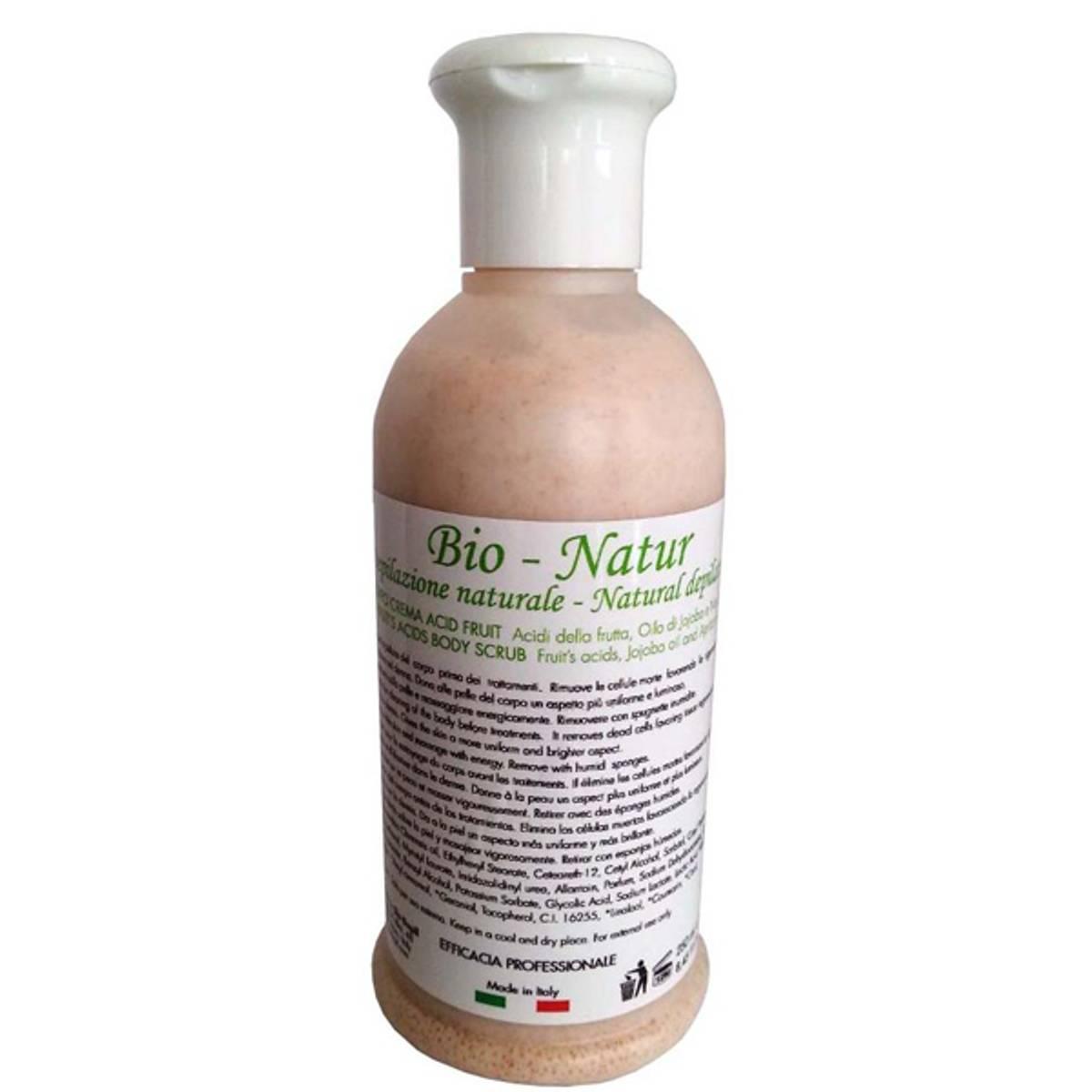 Bio-Natur Peeling (Fruits acid body scrub) 250 ml.
