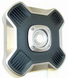 Bilde av Arbeidslampe oppladbar LED m/USB 2600lm
