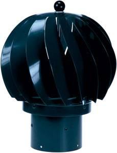 Bilde av Vindvifte - 110 mm, sort