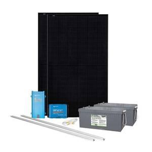 Bilde av Solcelleanlegg takmontert 700 watt AGM 230V