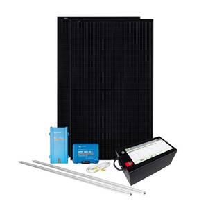 Bilde av Solcelleanlegg takmontert 700 watt lithium heat