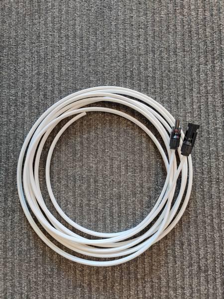 MC4 kabel 6mm2 for solcellepanel