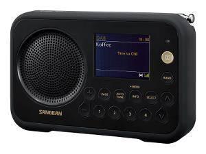 Bilde av DAB radio Sangean DPR76 svart Traveller 760