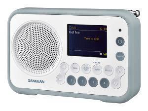 Bilde av DAB radio Sangean DPR76 Hvit/grå Traveller 760