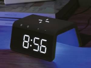 Bilde av Trådløs lader med klokke, Audix SY-W0258, svart