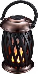 Bilde av Flammelampe Homeline Ignis med BT, børstet kobber