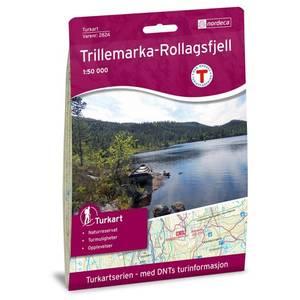 Bilde av Kart Trillemarka 2015