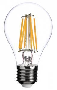 Bilde av 12V E27 A60 4W 4x Filament led pære, varmhvit