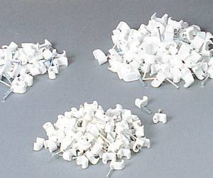 Bilde av Kabelklips 2 x 10 hvit
