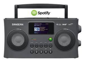 Bilde av DAB/Internet radio Sangean WFR29C Grå