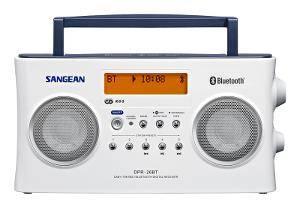 Bilde av DAB radio Sangean DPR26BT hvit