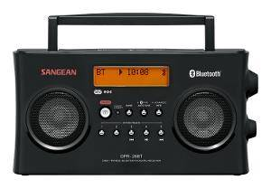 Bilde av     DAB radio Sangean DPR26BT svart