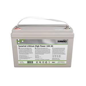 Bilde av Batteri Sunwind Lithium High Power 100At