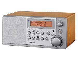 Bilde av     DAB radio Sangean DDR31BT Eik