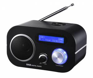 Bilde av 12V & 230V Trius DB-80V DAB+/FM Radio, m.batteri