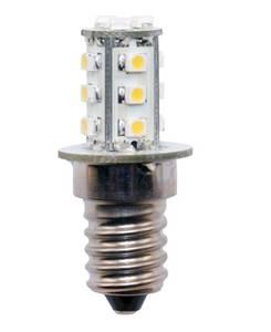 Bilde av 12V E14 mini 1,4W  led pære, varmhvit