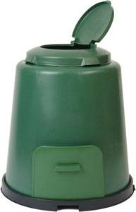 Bilde av Kompostbeholder 280 liter, med sokkel