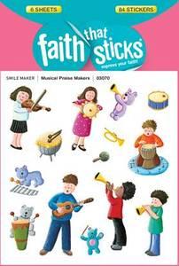 Bilde av Klistremerker Barn musikk