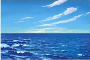 Bilde av Himmel og hav, bakgrunn