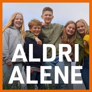 Bilde av Aldri alene - pakke 1, 2 eller 3