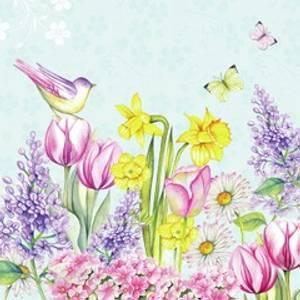 Bilde av Lunsj serviett, Blomstrende