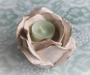 Bilde av Telysholder liten rose.