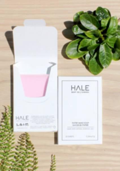 Hale papirsåpe med Wild Rose duft.