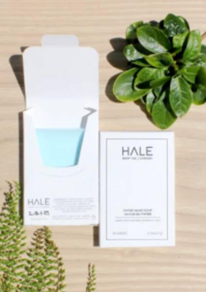 Hale papirsåpe med Sea Breeze duft.