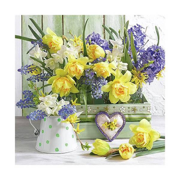Lunsj serviett, Mix of Flowers, fra Ambiente.