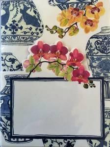 Bilde av Bordkort, Caspari Rosa