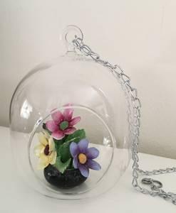 Bilde av Glassheng, rund liten, med