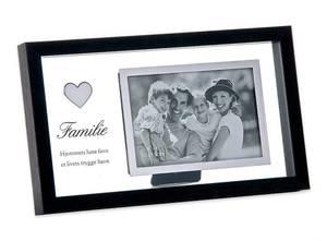 """Bilde av Fotoramme """"Familie"""" to delt"""