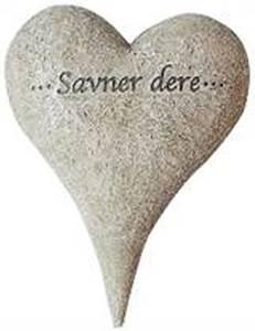 Bilde av Gravpynt, stort spisst hjerte