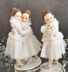Bilde av Figur Ballerina, sett med tre