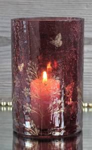 Bilde av Lysglass, burgunder med
