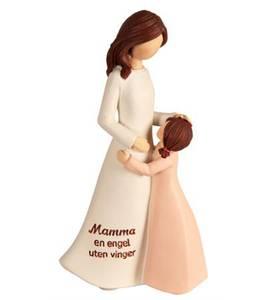 """Bilde av Figur med teksten """"Mamma en"""