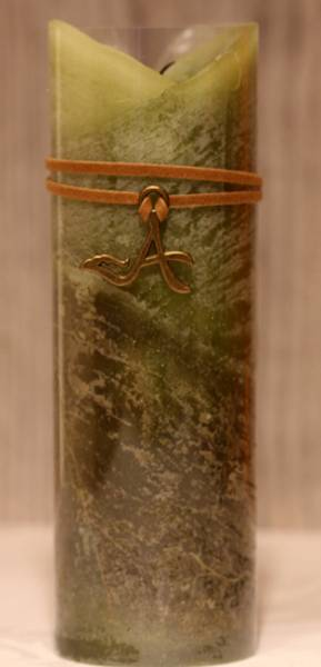 Kubbelys Pillar, høyt grønt.