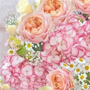 Bilde av Lunsj serviett. Vintage rose.