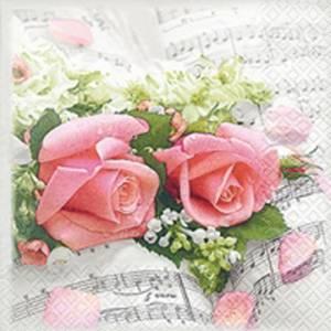 Bilde av Kaffe serviett, Flower
