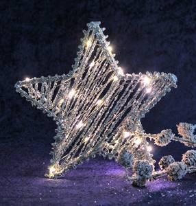 Bilde av Stjerne med Led lys, liten,