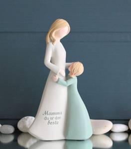 Bilde av Figur mor og barn, med
