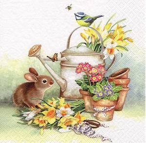 Bilde av Lunsj serviett, Hare med