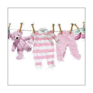 Bilde av Lunsj serviett, med rosa