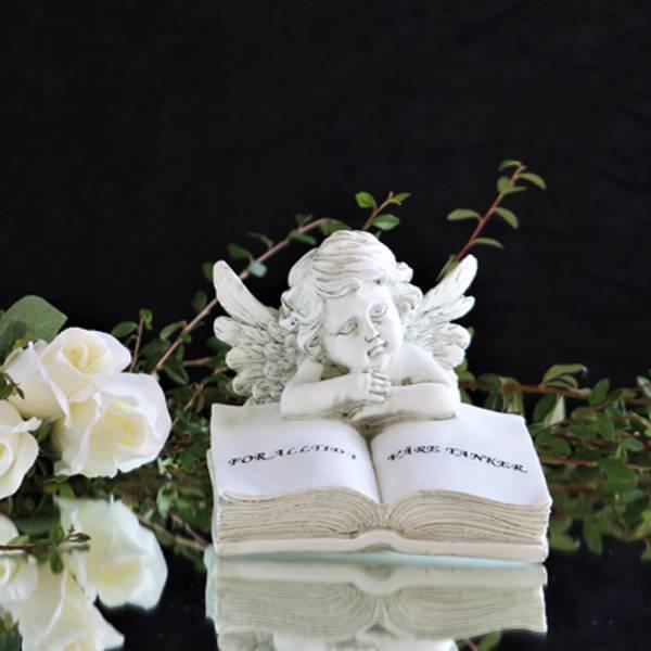 Engler-gravpynt-gravengler-fødselsmåneds engler-hjerter