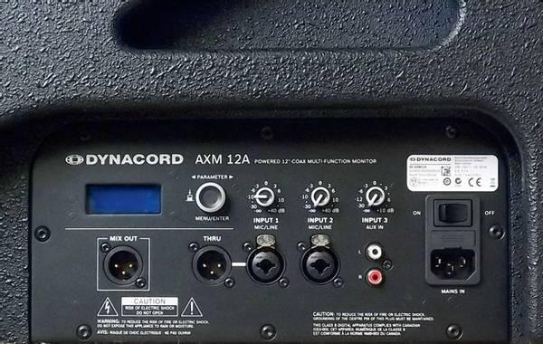 Dynacord AXM-12A Aktiv Coax Scenemonitor DSP 12
