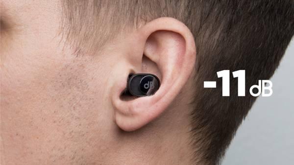 EarLabs dBud Ørepropper m/2 dempeledd