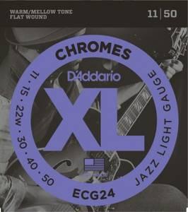 Bilde av Daddario ECG24 Chromes Jazz