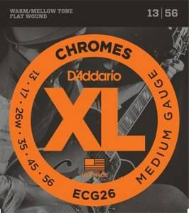 Bilde av Daddario ECG26 Chromes Flat